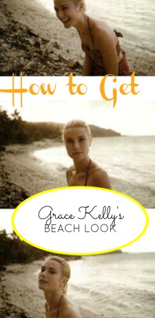 Young Grace Kelly was already an icon. But what made her so classy, even at the beach?