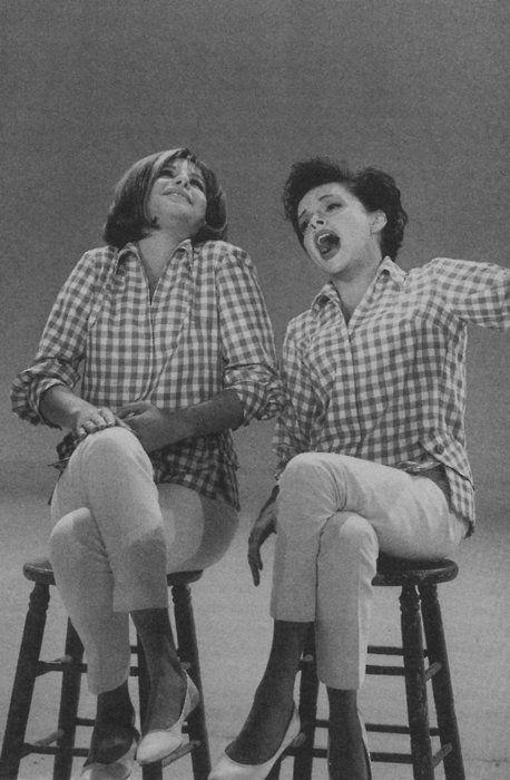 Judy Garland and Barbara Streisand - Classic Fashion Icons